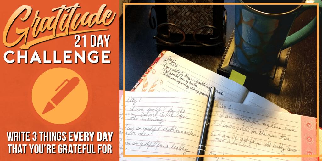 gratitude, abundance, 21 day gratitude and abundance challenge, attract abundance, attracting abundance