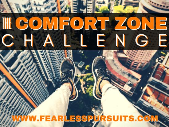 comfort zone challenge, comfort zone, personal growth, sharon koenig