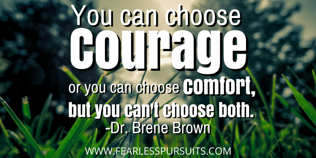 be yourself, being yourself, courage, finding courage, having courage