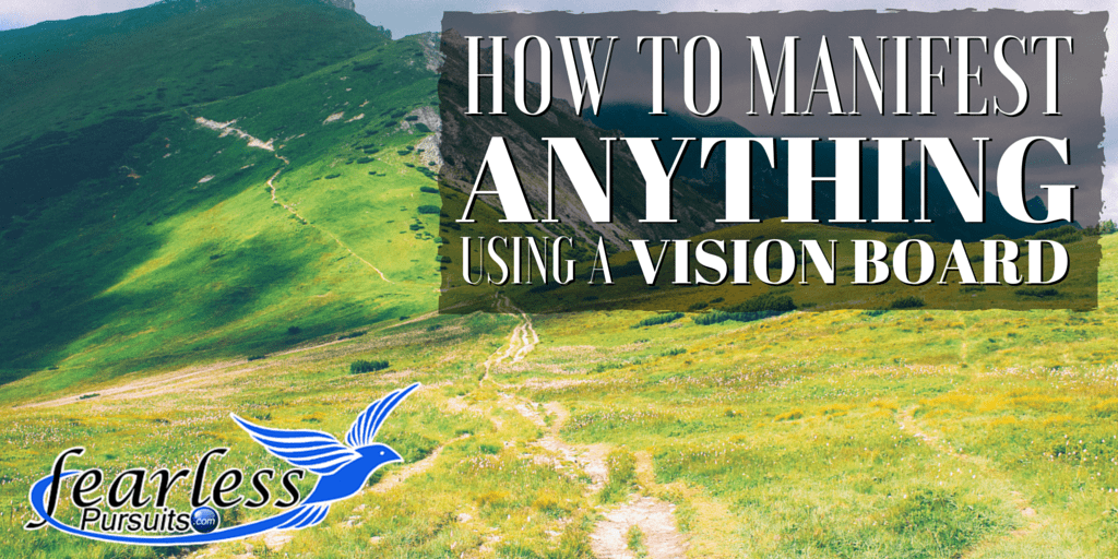 how to manifest anything, vision board, vision boards, how to use a vision board, law of attraction