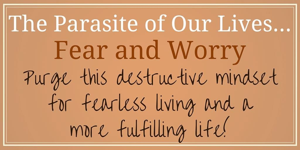 Overcoming fear and worry for fearless living, Sharon Koenig