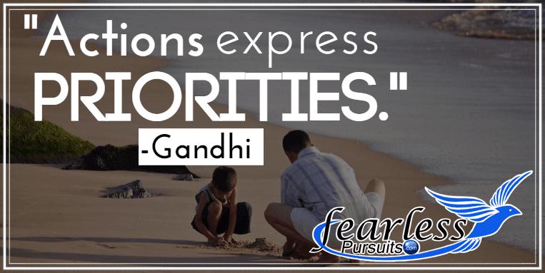 finding priorities, making priorities, spheres of life, sharon koenig