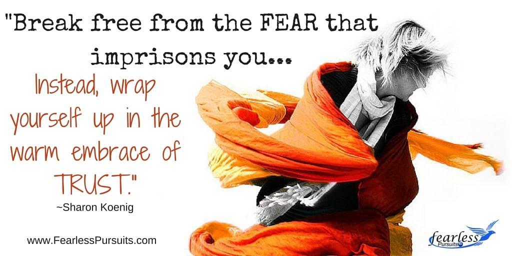 conquer fear, conquering fear