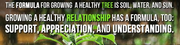 healthy relationships, stronger relationships