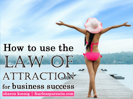 law of attraction for business success