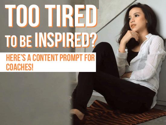 content prompts for coaches, content prompts for business, content prompts for entrepreneurs