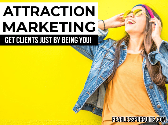 how to get coaching clients online, get coaching clients online, attraction marketing, what is attraction marketing