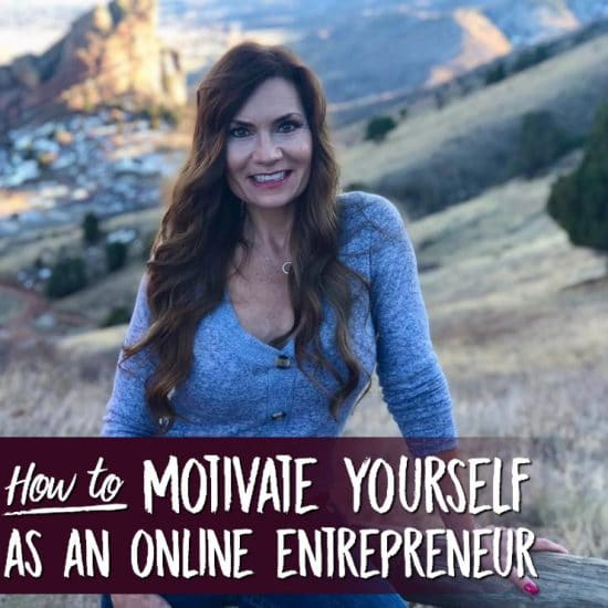 How to motivate yourself as an online entrepreneur